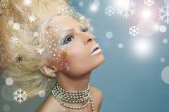 Snow magic image. Stock Images