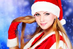 Snow Maiden Royalty Free Stock Photo