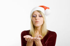 Snow Maiden Stock Photo