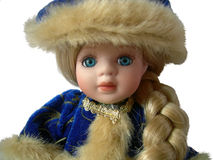 Snow Maiden. The Collection Doll. In Russia also known, as Snegourochka Stock Photography