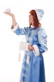Snow Maiden Stock Image