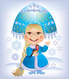 Snow-maiden Stock Photography