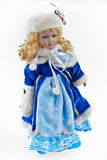 The Snow Maiden. In a beautiful dress Stock Images