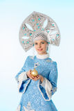 Snow-maiden Stock Image