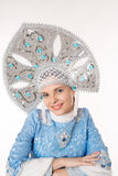 Snow-maiden Royalty Free Stock Images