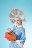 Snow-maiden Royalty Free Stock Image