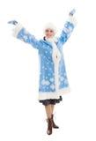 Snow Maiden Stock Photo