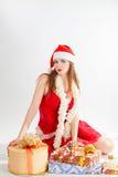 Snow Maiden Royalty Free Stock Photo