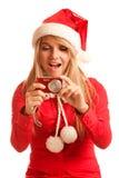 Snow Maiden photographs Stock Photos