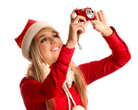 Snow Maiden photographs Stock Photo