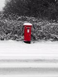 Snow mail Stock Images