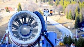 Snow maker propeller stock video