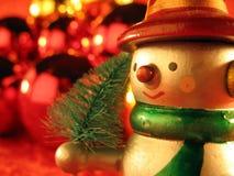 Snow man 2 Royalty Free Stock Image