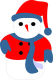 Snow man Royalty Free Stock Image