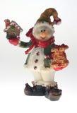 Snow man. Christmas snow man Stock Photos