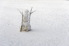 Snow Man Royalty Free Stock Images