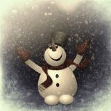 Snow Man Snow Stock Photos