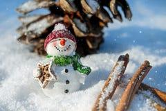 Snow Man, Snow, Winter, White, Cold Royalty Free Stock Photo