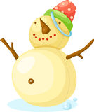 Snow Man vector Stock Photography