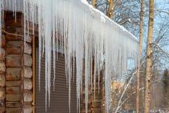 Snow melting Stock Photos