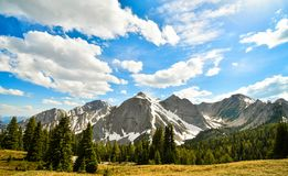Mount Aeneas British Columbia Canada Royalty Free Stock Photography