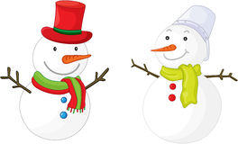 Snow men Stock Photo