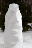 Snow Moai Stock Photos