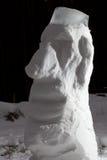 Snow Moai Royalty Free Stock Photos