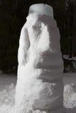 Snow Moai Stock Image