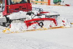 Snow mobile Royalty Free Stock Photography