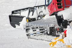 Snow mobile Stock Images