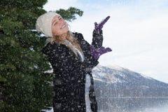Snow mood Royalty Free Stock Photos