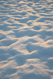 Snow Mounds Royalty Free Stock Photos