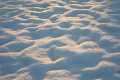 Snow Mounds Stock Photo