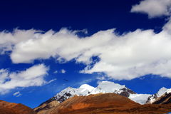 Snow mountain Stock Image