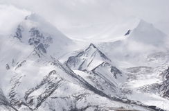 Snow mountain. S in west China Stock Photo
