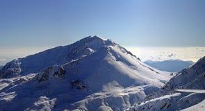 Snow mountain. In 50 kilometres from Antalya, Turkey Stock Photography