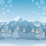 Snow mountain. This graphic is snow mountain. Illustration Stock Image
