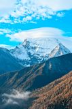 Snow mountain Royalty Free Stock Image