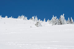 Snow mountain Royalty Free Stock Photography