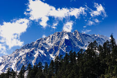 Snow Mountain Royalty Free Stock Photos