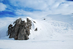 Snow Mountain. Bistra, Republic Of Macedonia Stock Photography