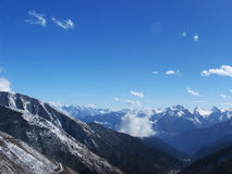 Snow mountain. ,west of sichuan province Royalty Free Stock Photos