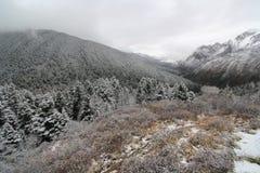 Snow mountain Royalty Free Stock Photos