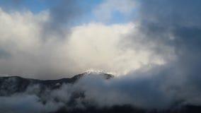 Snow mountain stock footage