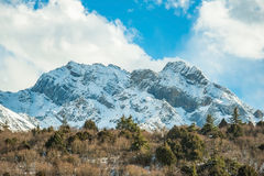 Snow Mountain Royalty Free Stock Image
