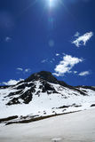 Snow mountain Blue Sky Stock Photography