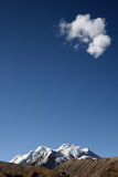 Snow mountain cloud  Royalty Free Stock Photography