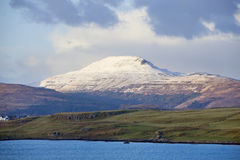 Snow Mountain in Highland Stock Image