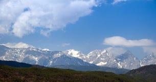 The snow mountain im Lijiang Royalty Free Stock Photo